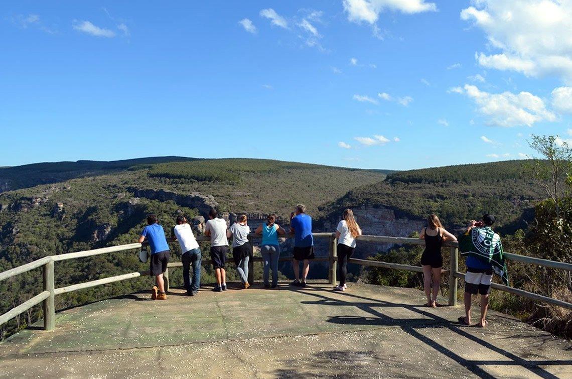 Plataforma da Cachoeira do Corisco