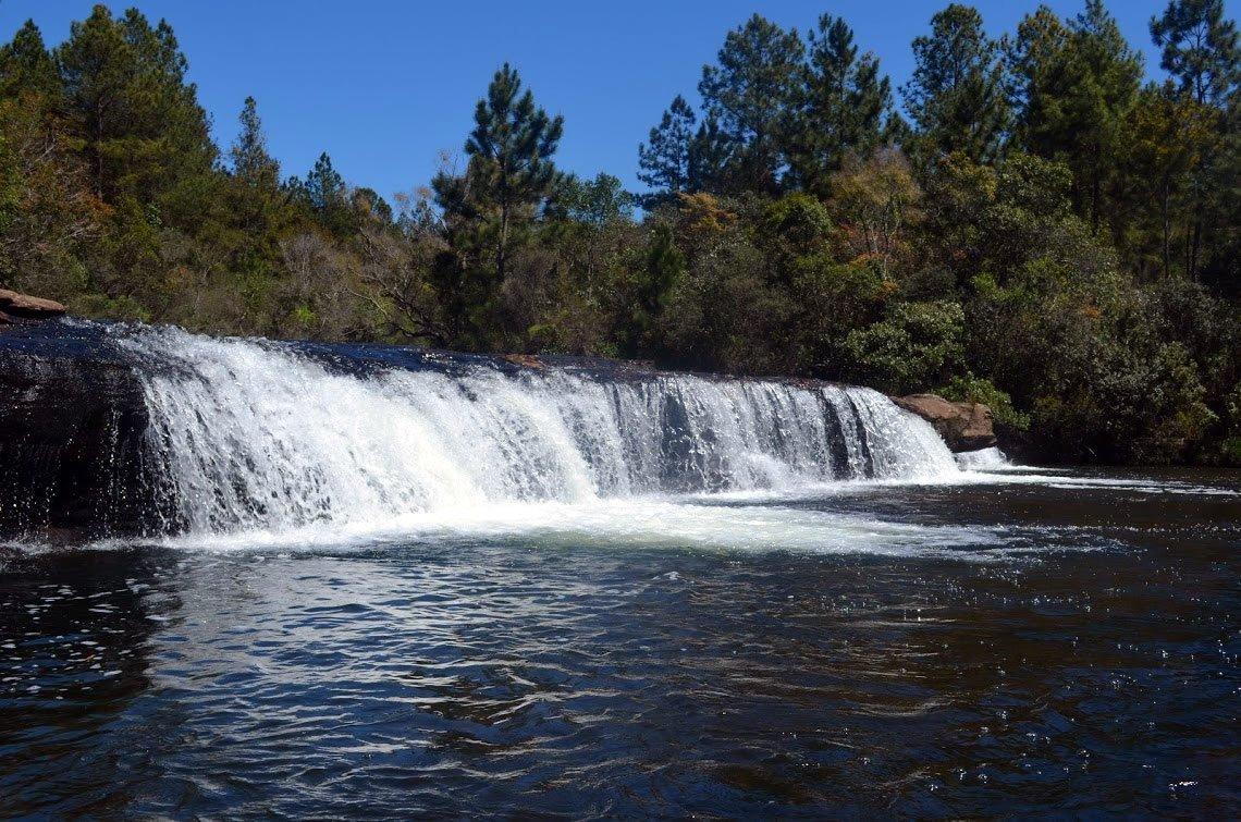 Piscina natural da Cachoeira do Sobradinho